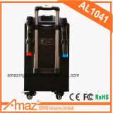 Altavoz al aire libre portable vendedor caliente de la carretilla de Bluetooth de la fábrica de Guangzhou