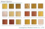 Застекленное высоким качеством полное деревянное изготовление двери Veneer от Китая