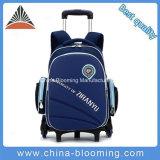 Saco impermeável rodado removível da bagagem da trouxa do saco de escola do trole