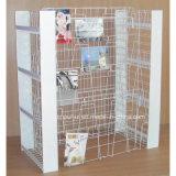 Пол стоя передвижной стеллаж для выставки товаров календара карманн стали 24 (PHY2053)