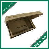 100 % recyclé Boîte de papier kraft brun avec logo et insérer l'impression