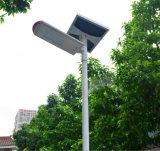 40W todo en un alumbrado público del jardín solar del LED