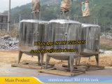 De alto cizallamiento de 1000L depósito mezclador con dispersor homogeneizador
