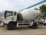 판매를 위한 소형 4 Cbm 교반기 트럭 4 M3 시멘트 믹서 트럭