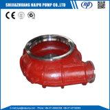Soem-Schlamm-Pumpe Weted Enden-Teil-Pumpen-Rückseiten-Zwischenlage-Einlage-Spiralen-Zwischenlage