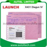 2017 Nieuwe Vrijgegeven Lancering X431 Diagun IV het best Automobiel Kenmerkende Scanner met 2 Jaar van Vrije Update x-431 Diagun IV de Scanner van de Code