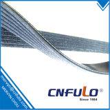 6pk cinghia, poli cinghia di V con fibra, garanzia 80000km