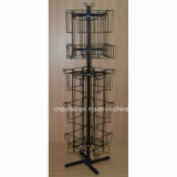 Quatro Lados guardanapo rotativa de piso (PHY Rack236)