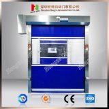 Puerta de alta velocidad de la persiana enrrollable del RAID del sitio automático del congelador