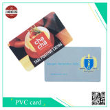 Carte de PVC d'IDENTIFICATION RF avec couvert par la surface de Matt PVC