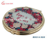 Gold Compact Makeup Mirrors for Lady