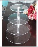 4- Tier Round &Clear Acrylic Cupcake Stand (MA-05)