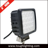 12 de Vierkante Op zwaar werk berekende LEIDENE van de volt 4inch 48W Lampen van de Mijnbouw