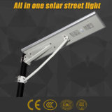 Poderosa energía en una sola calle la luz solar