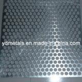 Feuille perforée en aluminium