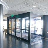 Хозяйственная прочная автоматическая стеклянная раздвижная дверь