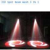 350W 17r света промойте Spot 3 в 1 Перемещение освещения головки блока цилиндров