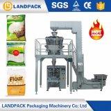 Grande parte de trás vedadas grânulo máquina de embalagem automática para 5kg de arroz