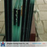 3mm+0.38PVB+3mm a 19mm+3.04PVB+19mm/Cor Clara de folhas de vidro laminado