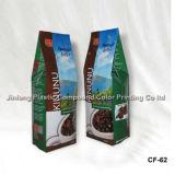 250gコーヒーのためのクォードによって密封されるプラスチック包装袋