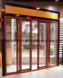 De Schuifdeur van het aluminium, de Deur van het Glas