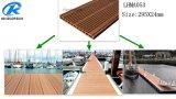 Verde e Decking Eco-Friendly com Fsc, ISO do fuzileiro naval WPC, certificação do Ce