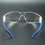 Lentille en polycarbonate transparent des lunettes de sécurité pour Lab (SG104)