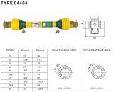Eje de Pto 04+04 para la maquinaria de la agricultura