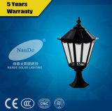 Indicatore luminoso solare certo e redditizio dell'alberino della lampada del LED