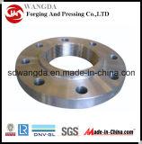 Classe ANSI ASTM A105 Deslizamento em flange de aço carbono