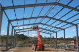 La estructura de acero de alta calidad de construcción de la granja
