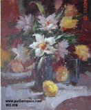 Oil Paiinting Flower (F-01)
