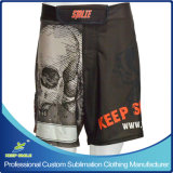 Shorts da luta do Sublimation MMA de Cuistom