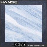 Le mattonelle Hb6324 12X12/parete blu della stanza da bagno coprono di tegoli mattonelle di marmo blu-chiaro/blu