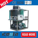 De Installatie van de Machine van de Buis van het ijs 5 Ton voor Myanmar