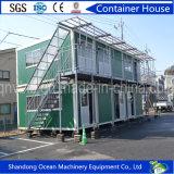 Pies favorables al medio ambiente de envase vivo móvil de la casa del arreglo para requisitos particulares 20 de materiales de construcción de la estructura de acero