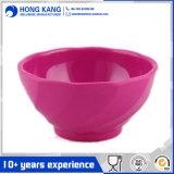 L'utilisation durable de la vaisselle de mélange de mélamine multicolore bol de soupe