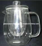 Высокая боросиликатного стекла чайник (Nrh-001)