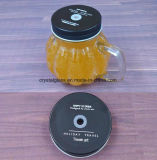 HandleのカボチャShape Glass Food Mason Jar