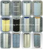 Tres espolones pulso, cartucho de filtro de polvo del filtro de cartucho de inyección