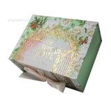 Оптовая торговля роскошь мода складные картонные косметические масла упаковке
