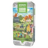 Kleinstes London der Welt überbrückt grünes Stück Pzzule der Weide-Feier-1000