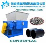 플라스틱 재생 기계 또는 플라스틱 제림기 또는 단 하나 샤프트 Shredder/400mm-1600mm HDPE 관 쇄석기