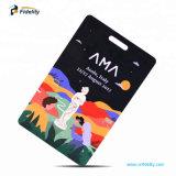 Schede astute di affari RFID NFC del PVC di formato materiale della carta di credito