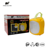 11のLEDチップ1匹の球根および携帯電話の充電器が付いている太陽ランタンシステム