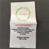 Lint Vier van het Satijn van de douane Kleuren drukte Etiketten af