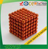 Magneten 5mm van Neocube de Sinaasappel van de Bal