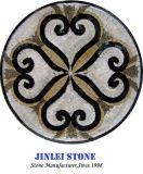 De populaire Opgepoetste Patronen van de Medaillons van de Vloer van de Straal van het Water, de Marmeren Tegels van het Mozaïek van het Patroon van de Medaillons van de Vloer