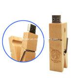 Memory Stick™ USB3.0 деревянной ручкой привода флэш-памяти прибора Clip флэш-накопитель USB