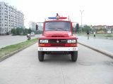 Het Water van Dongfeng 6000L van de Verkoop van de fabriek en de Vrachtwagen van de Brand van de Tanker van het Schuim, De Vrachtwagen van de Brandbestrijding